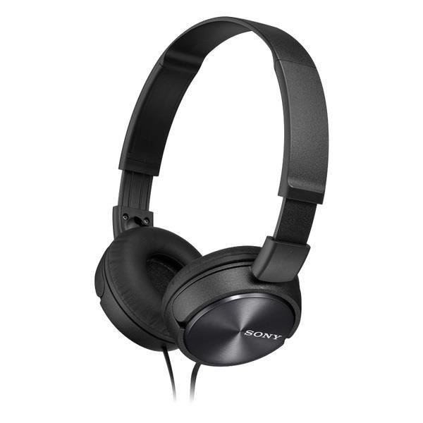 Sony Słuchawki nauszne zamknięte składane, czarne AP (