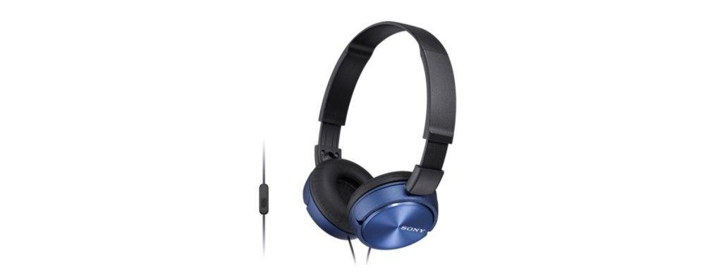 Sony Słuchawki nauszne zamknięte składane, niebieskie AP (