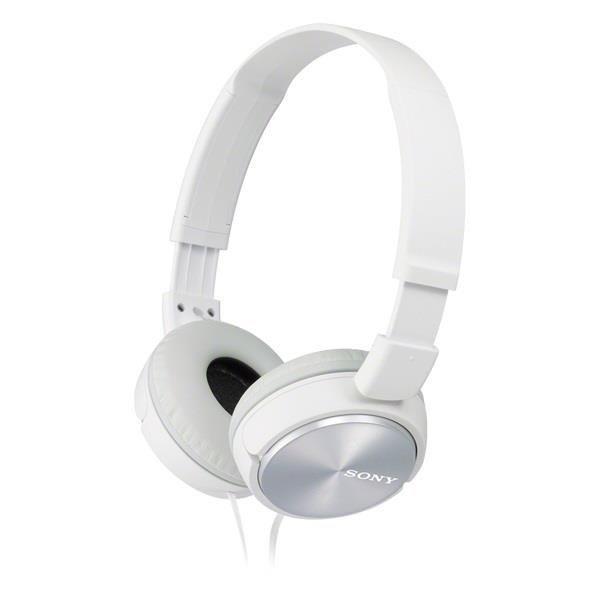 Sony Słuchawki nauszne zamknięte składane białe AP (
