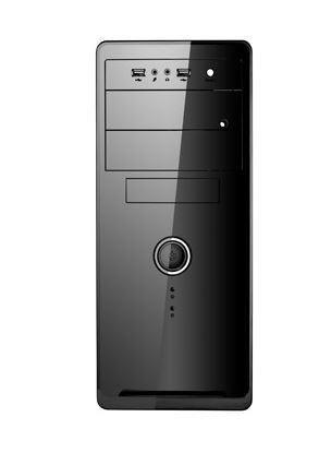 Spire obudowa komputerowa Seria OEM1072B microATX bez zasilacza, czarna