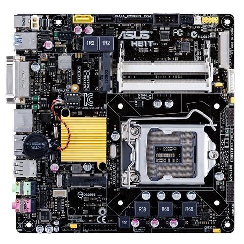 Asus H81T, H81, DualDDR3-1600, SATA3, HDMI, DVI, mITX