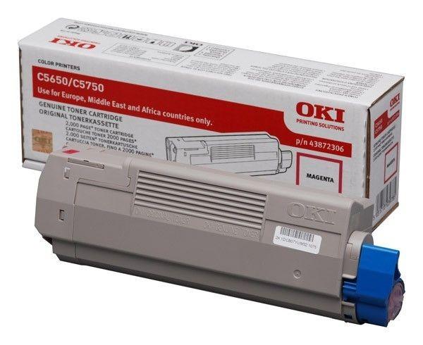 OKI Toner magenta | 2000str | C5650/C5750
