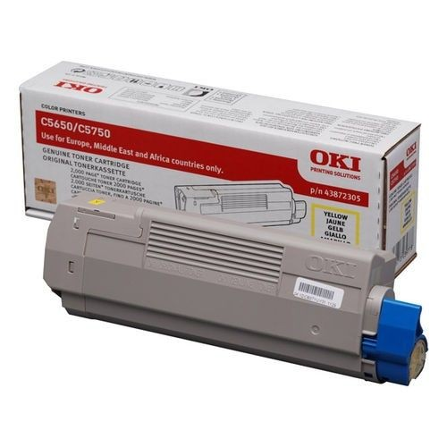 OKI Toner yellow | 2000str | C5650/C5750