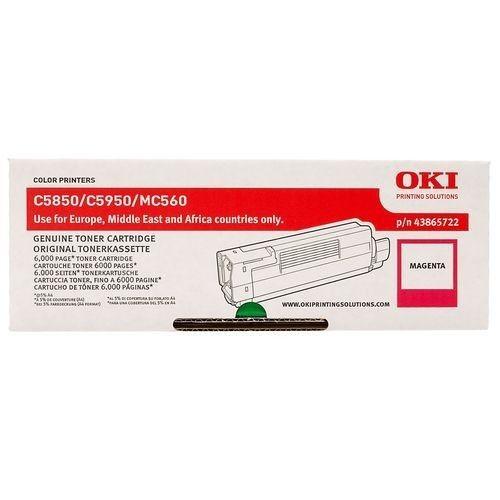 OKI Toner magenta | 6000str | C5850/5950/MC560