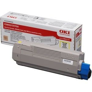 OKI Toner yellow | 6000str | C5850/5950/MC560