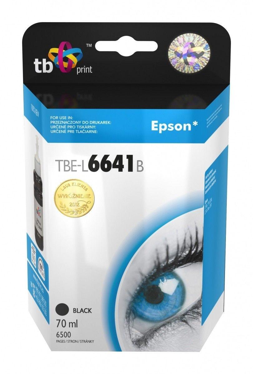 Epson Tusz do Epson L100/110/200/210/3xx/550 TBE-L6641B BK