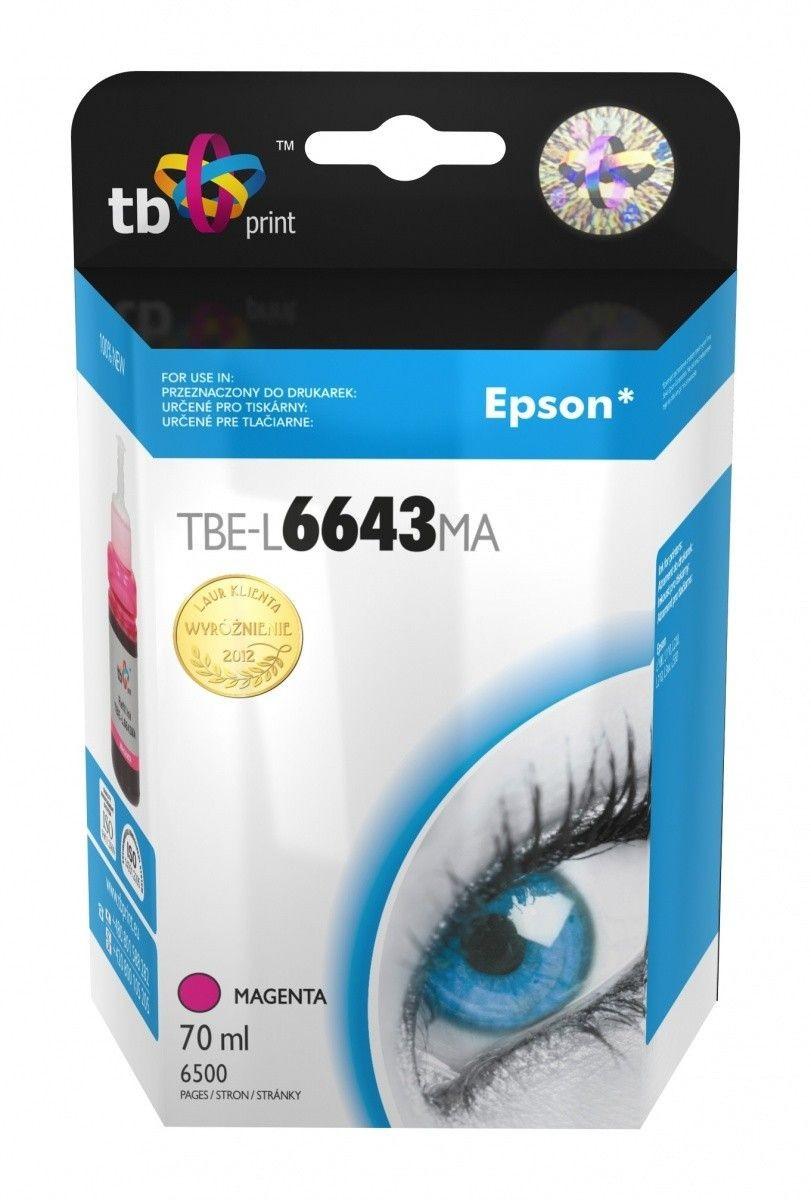 Epson Tusz do Epson L100/110/200/210/3xx/550 TBE-L6643MA MA