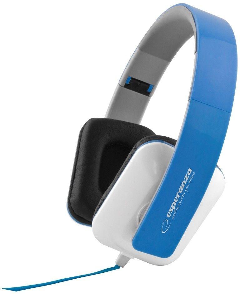 Esperanza Słuchawki Audio Stereo z Regulacją Głośności EH137B | 3m