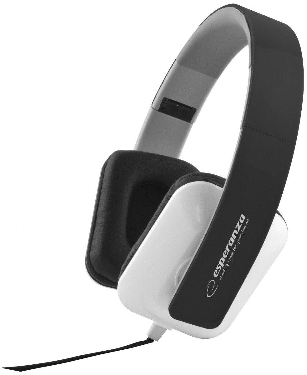 Esperanza Słuchawki Audio Stereo z Regulacją Głośności EH137K | 3m