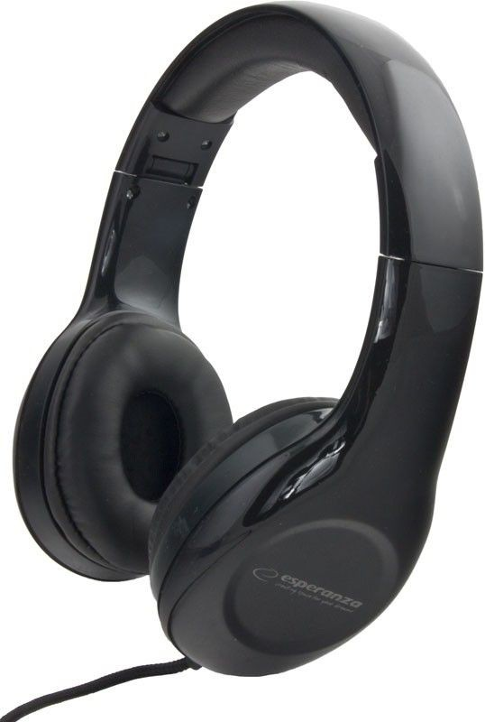 Esperanza Słuchawki Audio Stereo z Regulacją Głośności EH138K | 3m