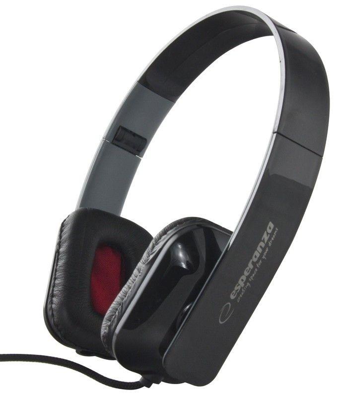 Esperanza Słuchawki Audio Stereo z Regulacją Głośności EH143K | 3m