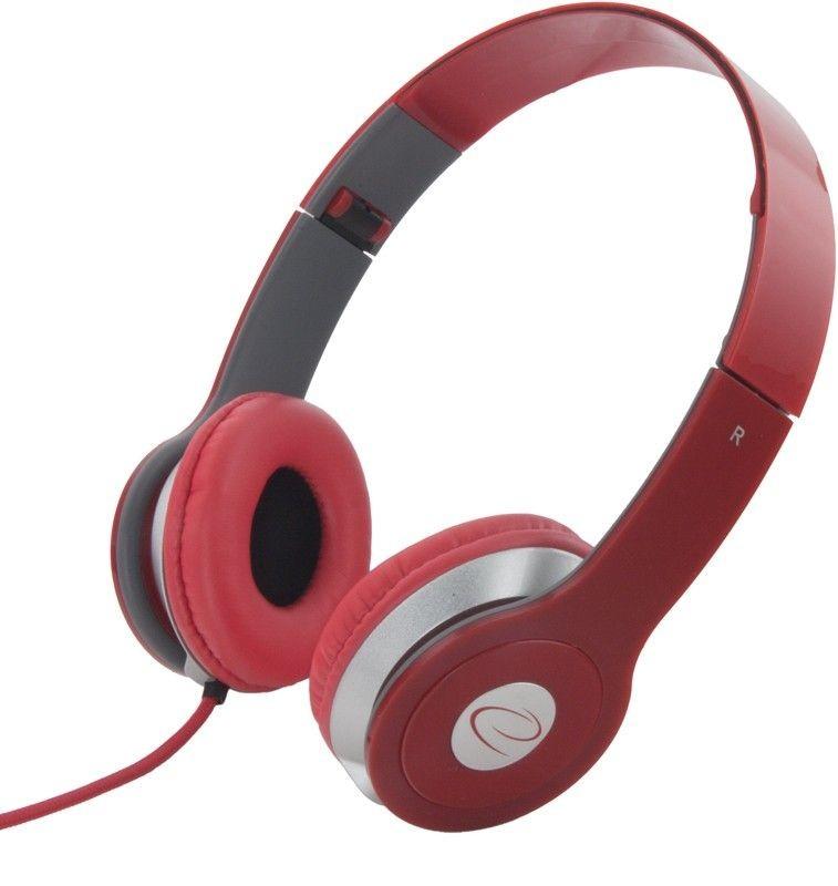Esperanza Słuchawki Audio Stereo z Regulacją Głośności TECHNO EH145R | 3m
