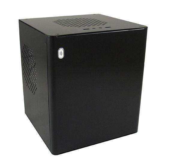 LC-Power Obudowa LC-POWER LC-1500Bmi Mini ITX Aluminium Zas. ATX Bla.