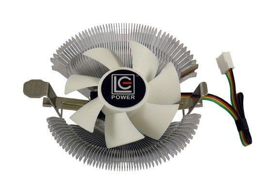 LC-Power WENTYLATOR CPU LC-CC-85 MULTI-SOCKET 70W 22RPM ALUMINIUMPWM, ŁOŻYSKA HYDRAULICZNE