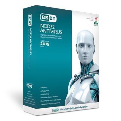 Eset NOD32 Antivirus 1U - 1Y + 3 M gratis