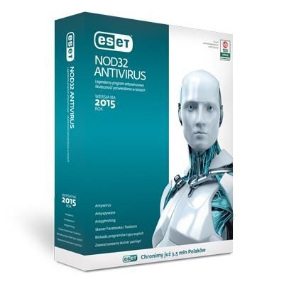Eset NOD32 Antivirus 1U - 2Lata