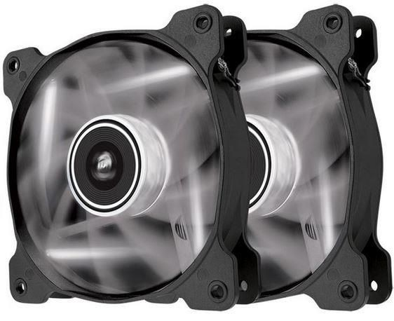 Corsair wentylator SP120 High Static Pressure 120mm 3 pin biały LED, dual