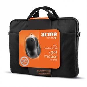 Acme Torba ACME 16M37 Notebook 15,6 + mysz optyczna ACME MS13