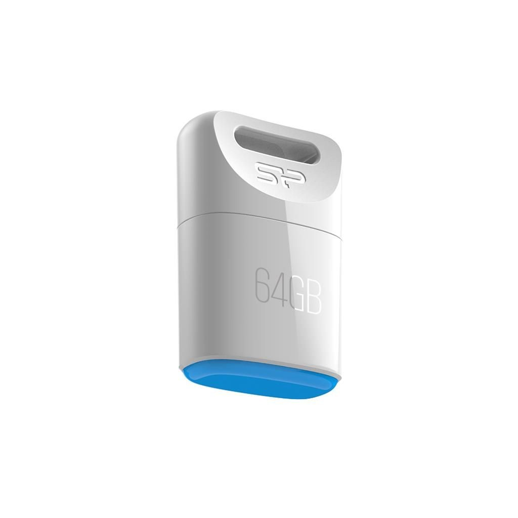 Silicon-Power Pendrive Silicon Power 8GB USB 2.0 Touch T06 White