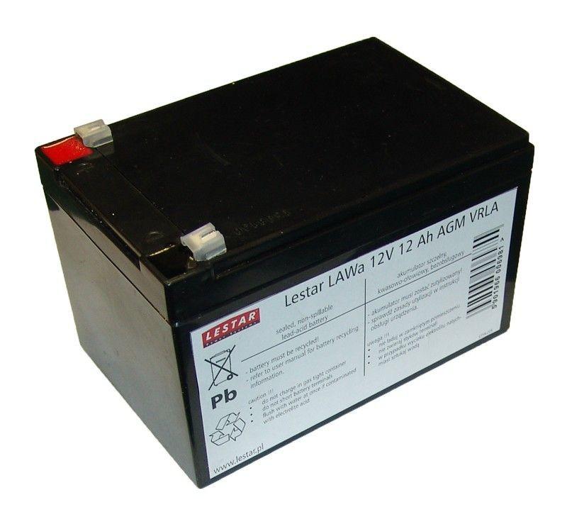 Lestar Akumulator wymienny LAWa 12V 12Ah AGM VRLA
