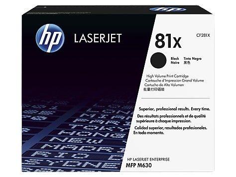 HP Toner HP 81X Black | MFP M630