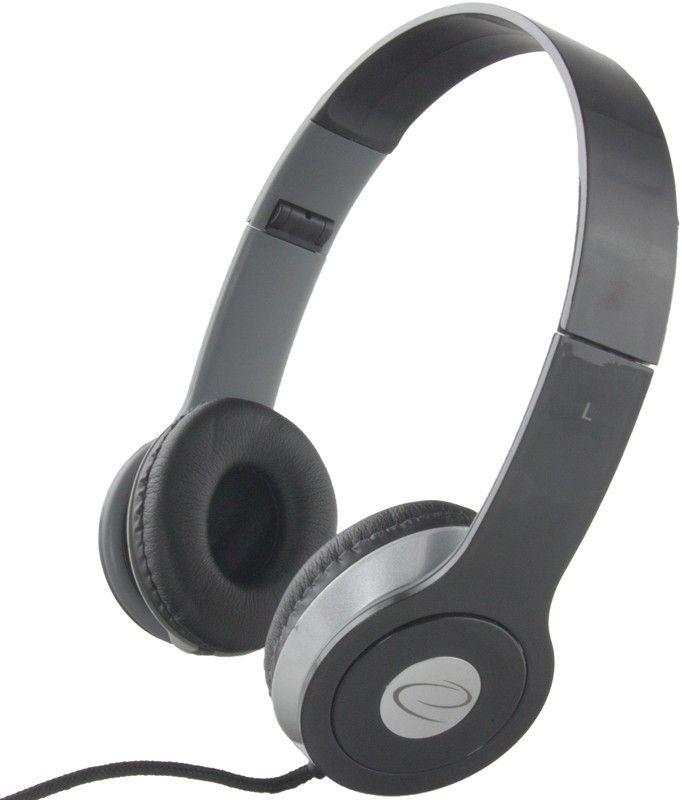 Esperanza Słuchawki Audio Stereo z Regulacją Głośności TECHNO EH145K | 3m