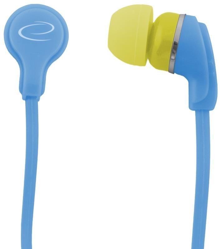 Esperanza Słuchawki Douszne Audio Stereo NEON EH147T Turkusowe