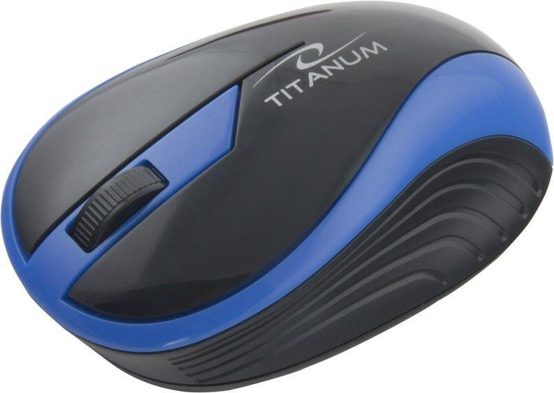 Esperanza TITANUM Bezprzewodowa Myszka Optyczna 3D TM113B | 2.4 GHz | 1000 DPI | Niebieska