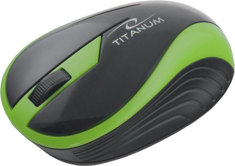 Esperanza TITANUM Bezprzewodowa Myszka Optyczna 3D TM113G | 2.4 GHz | 1000 DPI | Zielona