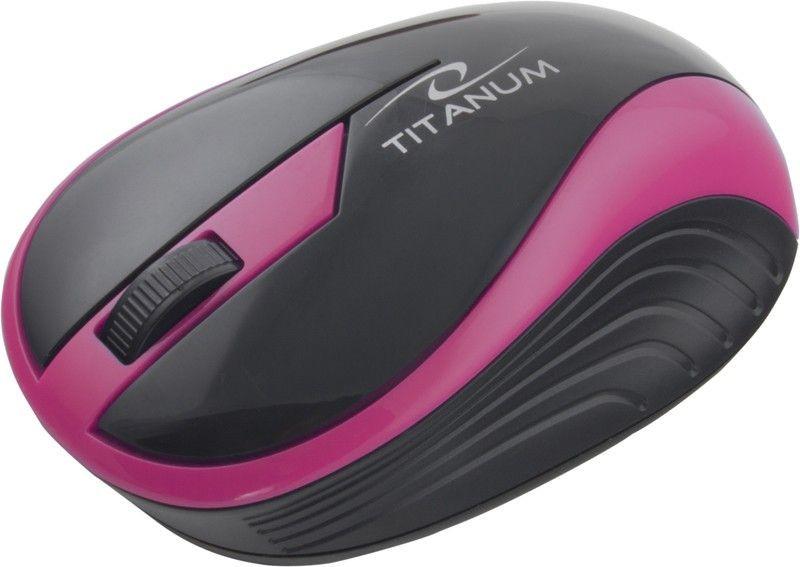 Esperanza TITANUM Bezprzewodowa Myszka Optyczna 3D TM113P | 2.4 GHz | 1000 DPI | Różowa