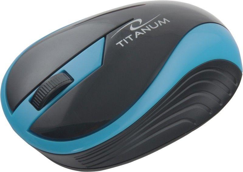 Esperanza TITANUM Bezprzewodowa Myszka Optyczna 3D TM113T | 2.4 GHz | 1000 DPI | Turkusowa