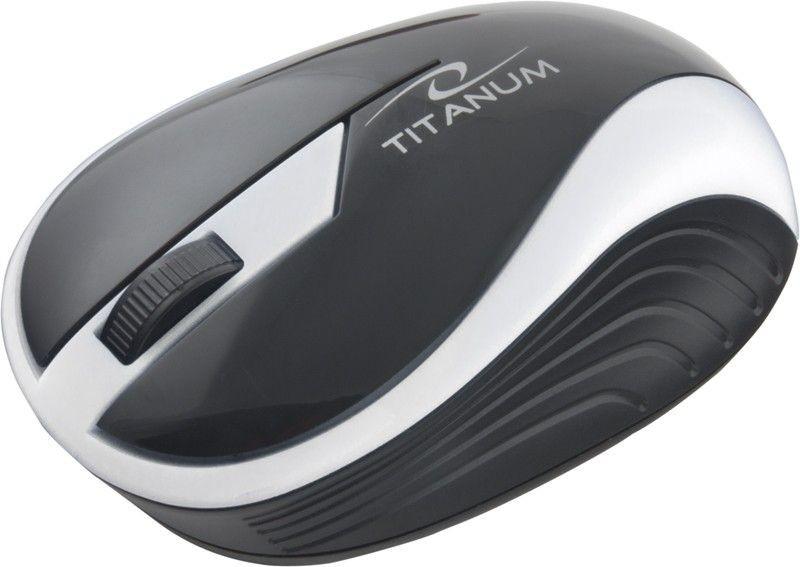 Esperanza TITANUM Bezprzewodowa Myszka Optyczna 3D TM113S | 2.4 GHz | 1000 DPI | Srebrna