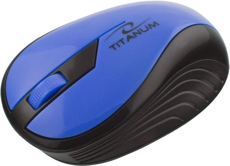 Esperanza TITANUM Bezprzewodowa Myszka Optyczna 3D TM114B | 2.4 GHz | 1000 DPI | Niebieska