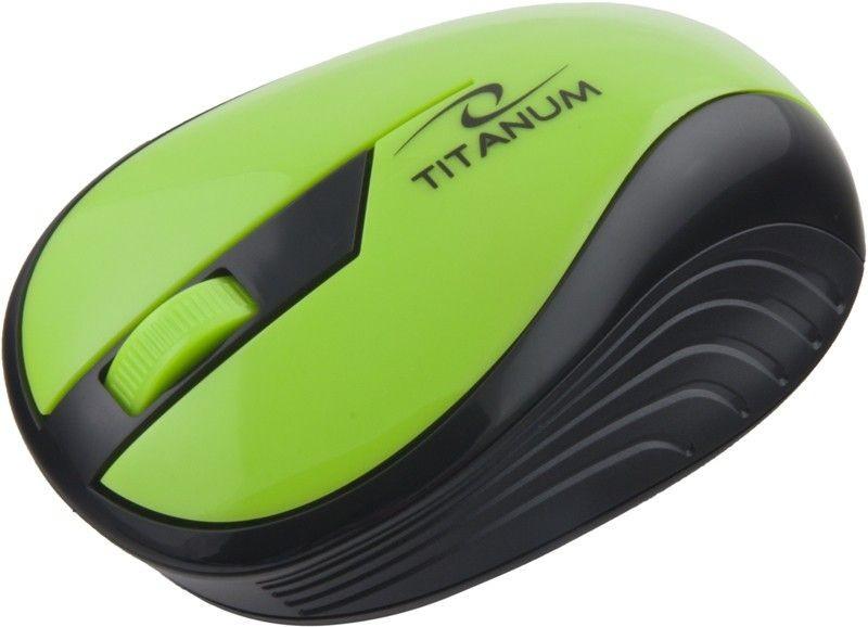Esperanza TITANUM Bezprzewodowa Myszka Optyczna 3D TM114G | 2.4 GHz | 1000 DPI | Zielona