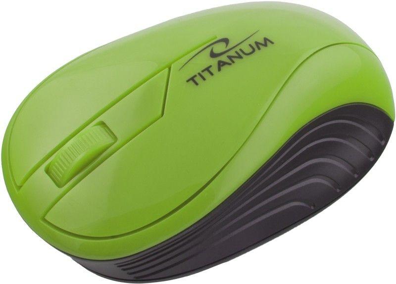 Esperanza TITANUM Bezprzewodowa Myszka Optyczna 3D TM115G | 2.4 GHz | 1000 DPI | Zielona