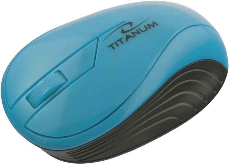 Esperanza TITANUM Bezprzewodowa Myszka Optyczna 3D TM115T | 2.4 GHz | 1000 DPI | Turkusowa