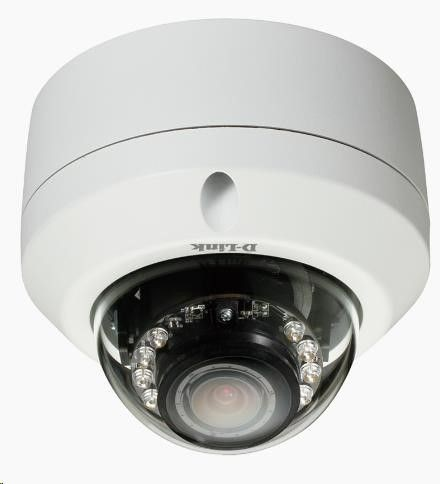 D-Link HD Outdoor Fixed Dome Camera with Color Night Vision