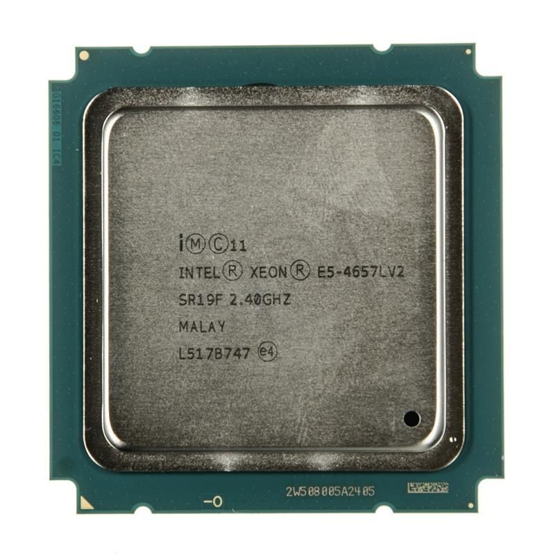Intel Xeon processor 12C, E5-4657Lv2, 2.40GHz, 30MCache, 8.00 GT/sec, LGA2011-0