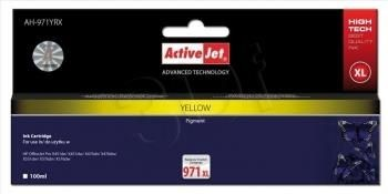 ActiveJet Tusz ActiveJet AH-971YRX | Yellow | 100 ml | HP 971XL CN628AE