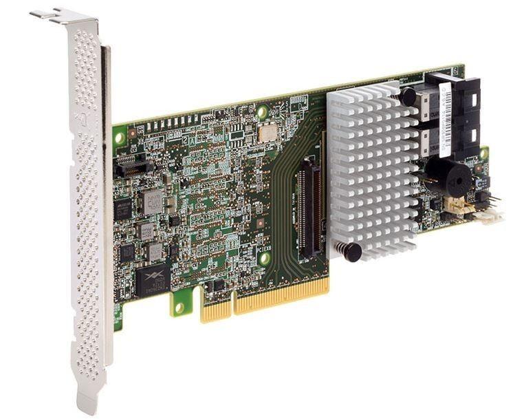 Intel RAID Controller RS3DC080 Mainstream 1GB DDR3 Low Profile 8 internal ports Intelligent RAID 0,1,5,10,50,60 SAS & SATA single