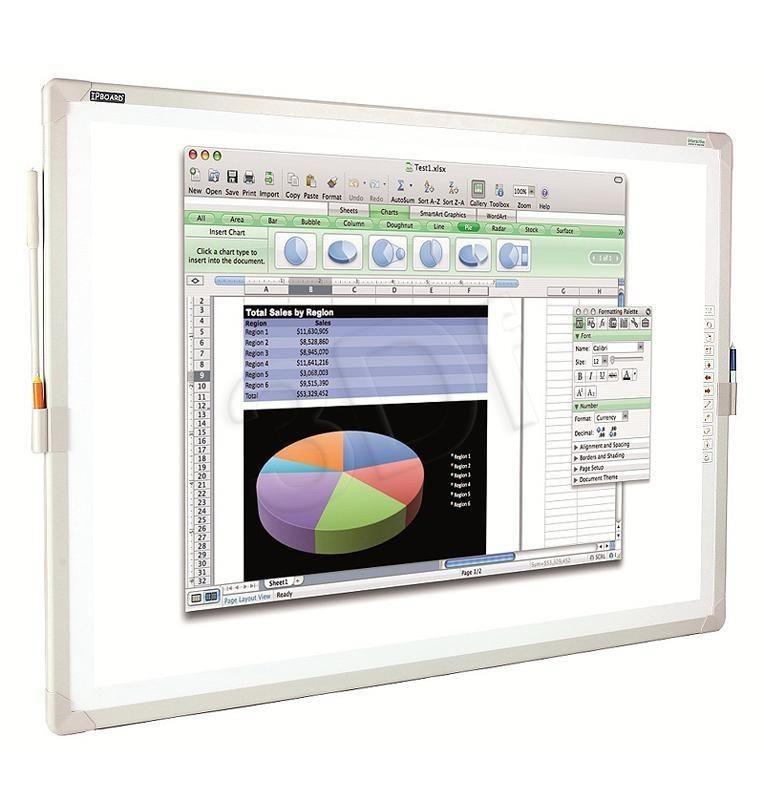 IBoard Tablica interaktywna Interactive iBoard - IPBoard 85 (80 5 ) elektromagnetyczna pasywna