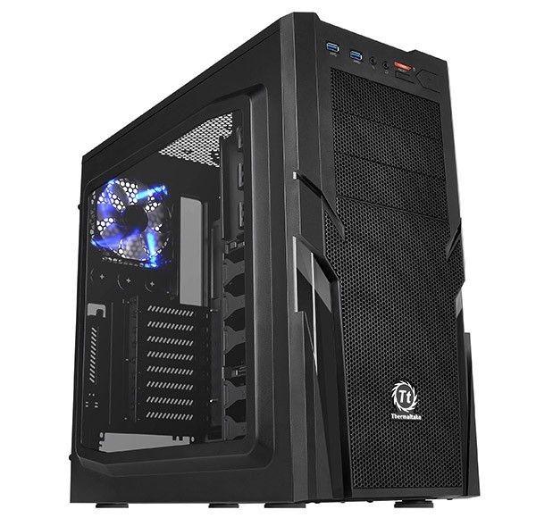Thermaltake Commander G41 USB3.0 Window (2x120mm, LED), czarna