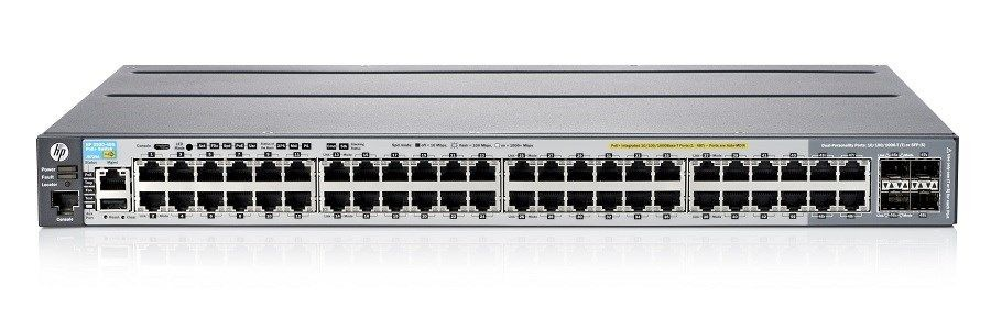 HP Switch 2920-48G-POE+ 48xGBit/4xSFP J9729A