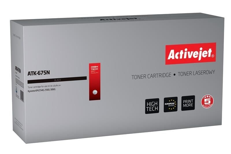 ActiveJet Toner ActiveJet ATK-675N | Czarny | 20000 pp | KYOCERA TK-675