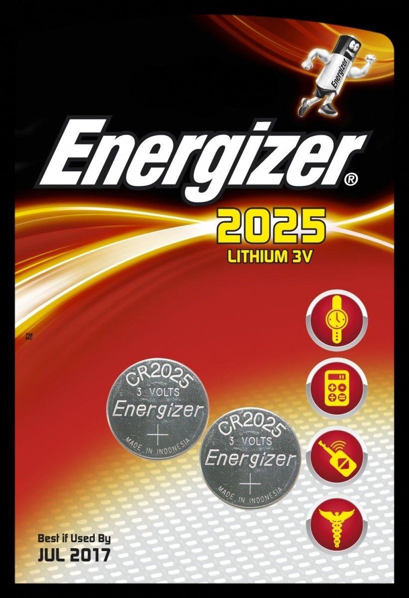 Energizer Bateria CR2025 /2 szt. blister