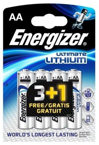 Energizer Bateria LITHIUM AA L91 3+1szt.