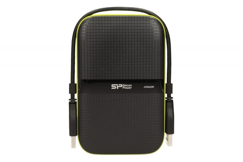 Silicon-Power ARMOR A60 2TB USB 3.0 BLACK-GREEN/PANCERNY wstrząso/pyło i wodoodporny