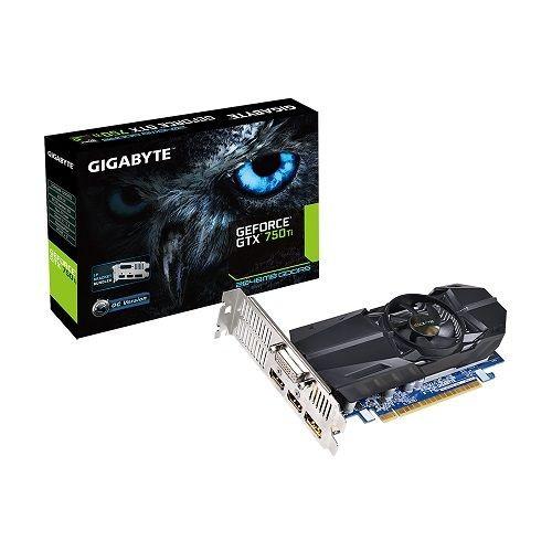 Gigabyte GeForce GTX 750 Ti OC, 2GB GDDR5 (128 Bit), 2xHDMI, DVI, DP