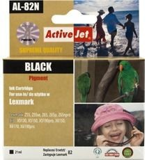 ActiveJet Tusz ActiveJet AL-82N | Black | 21 ml | Lexmark 18L0032E