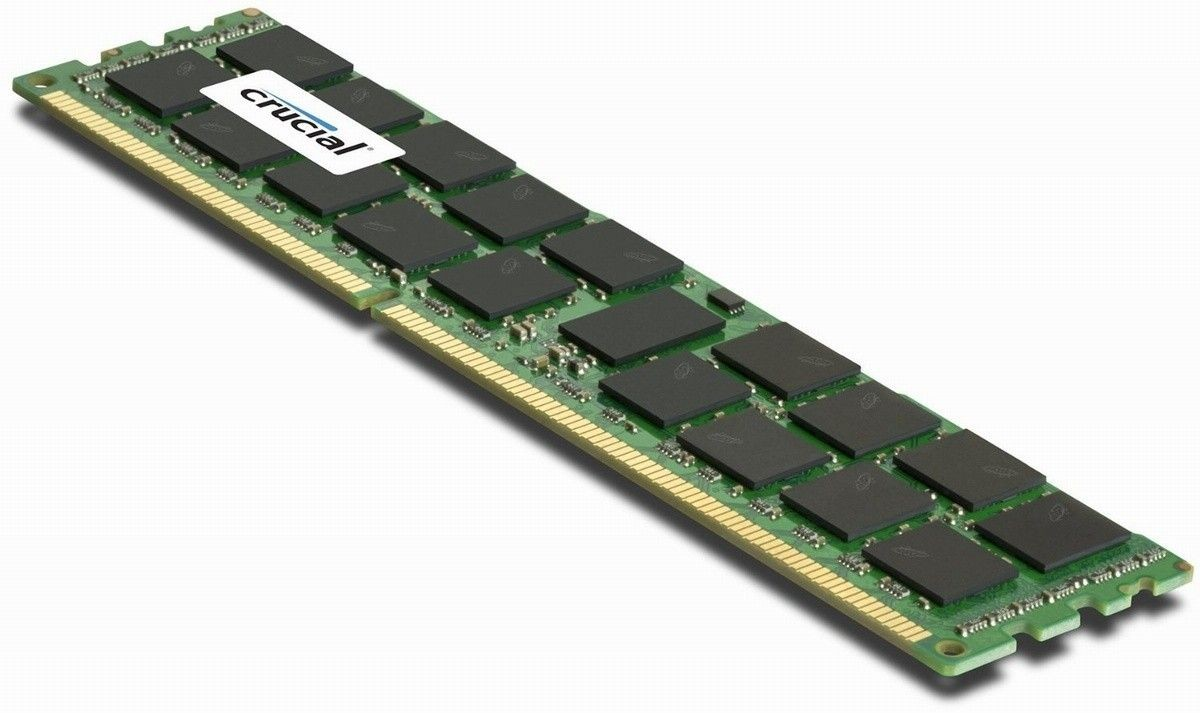 Crucial 8GB 2133MHz DDR4 CL15 Dual Ranked UDIMM 1.2V
